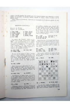 Muestra 3 de REVISTA EL AJEDREZ ESPAÑOL 77 / 10 - 1962. OCTUBRE. XV OLIMPIADA EN VARNA (Vvaa) FEDA 1962