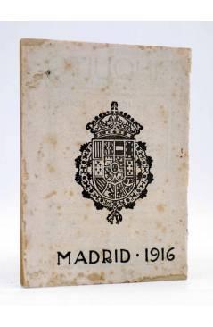 Contracubierta de LA NOVELA PARA TODOS AÑO I Nº 4 IV. EL CELOSO EXTREMEÑO (Cervantes) Publicaciones Económicas 1916