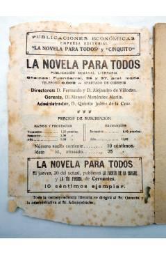 Muestra 1 de LA NOVELA PARA TODOS AÑO I Nº 4 IV. EL CELOSO EXTREMEÑO (Cervantes) Publicaciones Económicas 1916