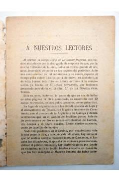 Muestra 2 de LA NOVELA PARA TODOS AÑO I Nº 4 IV. EL CELOSO EXTREMEÑO (Cervantes) Publicaciones Económicas 1916