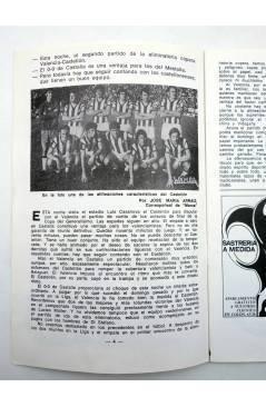 Muestra 1 de VALENCIA C. DE F. PROGRAMA OFICIAL COPA DE S.E. EL GENERALÍSIMO. OCTAVOS DE FINAL. Valencia 1973