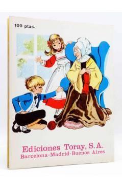 Contracubierta de CUENTOS OCURRIÓ UNA VEZ TOMO 4 (Eugenio Sotillos / María Pascual) Toray 1975