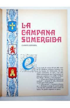 Muestra 1 de CUENTOS DE TODO EL MUNDO SERIE B 2. LA CAMPANA SUMERGIDA (Sotillos / María Pascual) Toray 1974