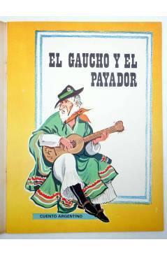 Muestra 1 de CUENTOS DE TODO EL MUNDO SERIE B 13. EL GAUCHO Y EL PAYADOR (Sotillos / María Pascual) Toray 1975
