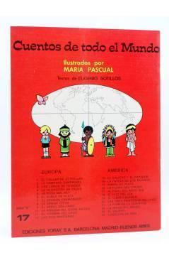 Contracubierta de CUENTOS DE TODO EL MUNDO SERIE B 17. AL FINAL DEL ARCO IRIS (Sotillos / María Pascual) Toray 1975