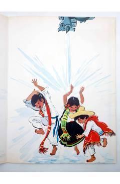Muestra 2 de CUENTOS DE TODO EL MUNDO SERIE B 17. AL FINAL DEL ARCO IRIS (Sotillos / María Pascual) Toray 1975