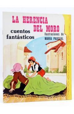 Cubierta de CUENTOS FANTÁSTICOS 7. LA HERENCIA DEL MORO (Sotillos / María Pascual) Toray 1975
