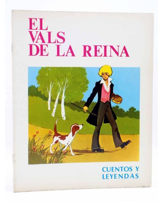 Cubierta de CUENTOS Y LEYENDAS 5. EL VALS DE LA REINA (Sotillos / María Pascual) Toray 1975