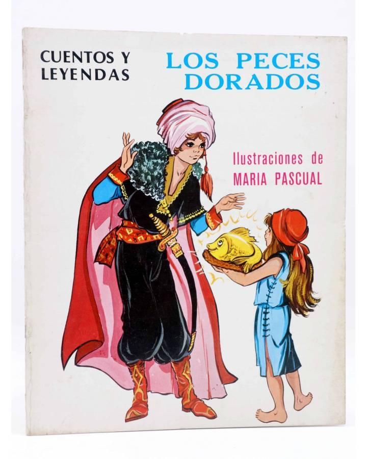 Cubierta de CUENTOS Y LEYENDAS 10. LOS PECES DORADOS (Sotillos / María Pascual) Toray 1975
