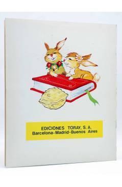 Contracubierta de CUENTOS Y LEYENDAS 10. LOS PECES DORADOS (Sotillos / María Pascual) Toray 1975