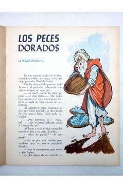 Muestra 1 de CUENTOS Y LEYENDAS 10. LOS PECES DORADOS (Sotillos / María Pascual) Toray 1975