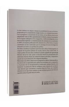 Contracubierta de ESTETICISMO Y COMPROMISO. LA POESÍA DE MAX AUB EN EL LABERINTO ESPAÑOL DE LA EDAD DE PLATA 1923-1939 (
