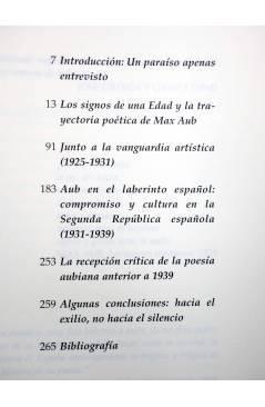 Muestra 1 de ESTETICISMO Y COMPROMISO. LA POESÍA DE MAX AUB EN EL LABERINTO ESPAÑOL DE LA EDAD DE PLATA 1923-1939 (Juan