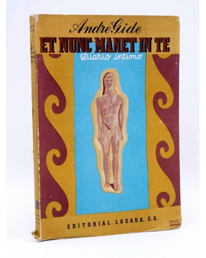 Cubierta de ET NUNC MANET IN TE. DIARIO ÍNTIMO (André Gide) Losada 1953