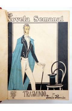 Muestra 2 de LA NOVELA SEMANAL 115 A 124. EN UN TOMO (Vvaa) Prensa Gráfica 1923