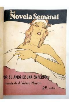 Muestra 3 de LA NOVELA SEMANAL 115 A 124. EN UN TOMO (Vvaa) Prensa Gráfica 1923