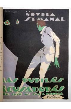 Muestra 4 de LA NOVELA SEMANAL 115 A 124. EN UN TOMO (Vvaa) Prensa Gráfica 1923