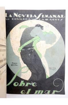 Muestra 5 de LA NOVELA SEMANAL 115 A 124. EN UN TOMO (Vvaa) Prensa Gráfica 1923