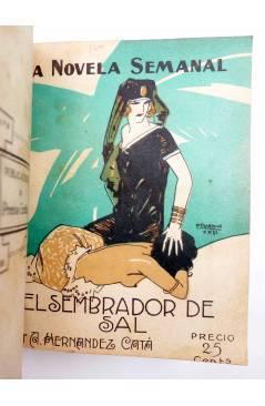 Muestra 6 de LA NOVELA SEMANAL 115 A 124. EN UN TOMO (Vvaa) Prensa Gráfica 1923