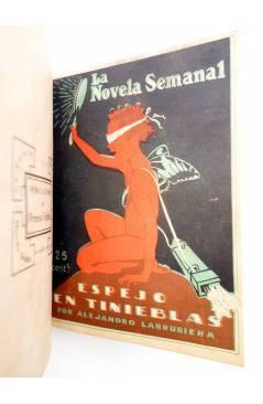 Muestra 7 de LA NOVELA SEMANAL 115 A 124. EN UN TOMO (Vvaa) Prensa Gráfica 1923