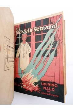 Muestra 8 de LA NOVELA SEMANAL 115 A 124. EN UN TOMO (Vvaa) Prensa Gráfica 1923