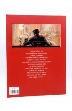 Contracubierta de LE JOURNAL D'ABERCROMBIE SMITH. L'ALIÉNÉ (Betbeder / Solmon) Albin Michel 2007