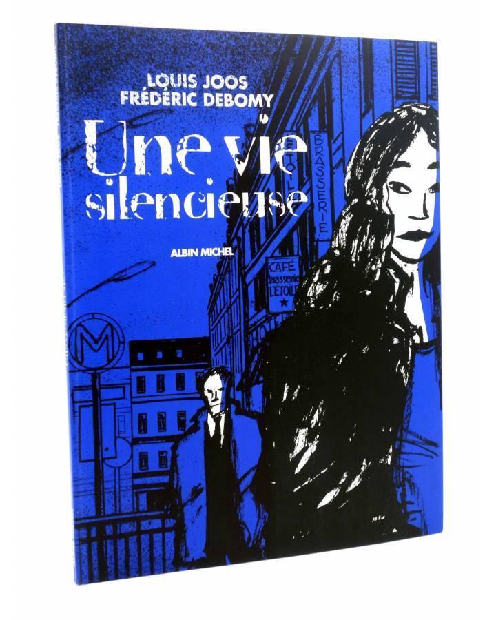 Cubierta de UNE VIE SILENCIEUSE (Louis Joos / Fréderick Debomy) Albin Michel 2005