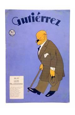 Cubierta de GUTIÉRREZ SEMANARIO ESPAÑOL DE HUMORISMO AÑO VII. Nº 335 (Vvaa) Madrid 1933