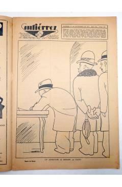 Muestra 1 de GUTIÉRREZ SEMANARIO ESPAÑOL DE HUMORISMO AÑO VII. Nº 335 (Vvaa) Madrid 1933
