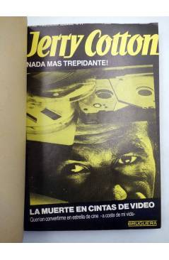 Muestra 1 de JERRY COTTON SELLECCIÓN DE NOVELAS POLICIACAS 4. RETAPADO (Vvaa) Bruguera 1985
