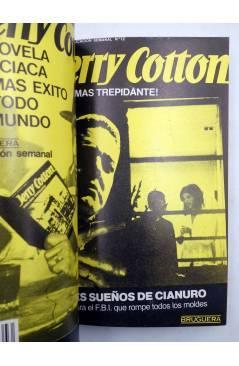 Muestra 2 de JERRY COTTON SELLECCIÓN DE NOVELAS POLICIACAS 4. RETAPADO (Vvaa) Bruguera 1985