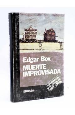 Cubierta de MUERTE IMPROVISADA (Edgar Box - Gore Vidal) Edhasa 1987