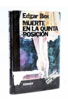Cubierta de MUERTE EN LA QUINTA POSICIÓN (Edgar Box - Gore Vidal) Edhasa 1986