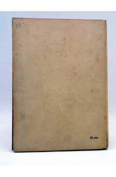 Contracubierta de COLECCIÓN PEONIA GRAN FORMATO. HISTORIAS EXTRAORDINARIAS (Edgar Allan Poe) Ediciones Ramos Circa 1950