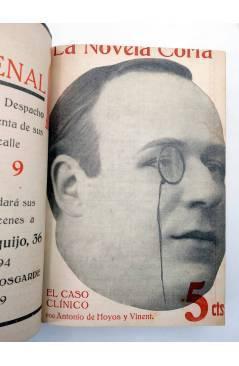 Muestra 4 de LA NOVELA CORTA 1 A 25. ENCUADERNADOS EN UN TOMO (Vvaa) La Novela Corta 1916