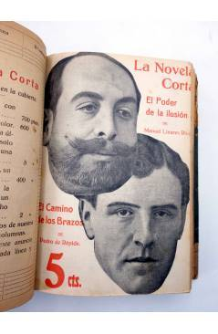Muestra 7 de LA NOVELA CORTA 1 A 25. ENCUADERNADOS EN UN TOMO (Vvaa) La Novela Corta 1916