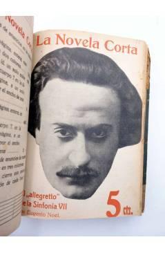 Muestra 8 de LA NOVELA CORTA 1 A 25. ENCUADERNADOS EN UN TOMO (Vvaa) La Novela Corta 1916