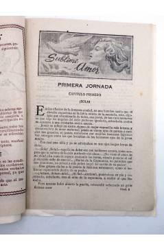 Muestra 3 de FOLLETÍN SUBLIME AMOR. NÚMERO DE PROPAGANDA (Mario D'Anconna) Guerri Circa 1930