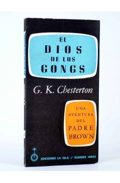 Cubierta de UNA AVENTURA DEL PADRE BROWN 4. EL DIOS DE LOS GONGS (G. K. Chesterton) La Isla 1955