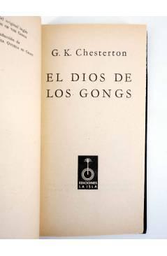 Muestra 1 de UNA AVENTURA DEL PADRE BROWN 4. EL DIOS DE LOS GONGS (G. K. Chesterton) La Isla 1955