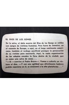 Muestra 2 de UNA AVENTURA DEL PADRE BROWN 4. EL DIOS DE LOS GONGS (G. K. Chesterton) La Isla 1955