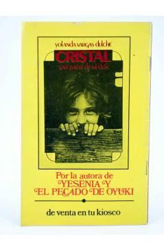 Contracubierta de LÁGRIMAS RISAS Y AMOR 80. EL PECADO DE OYUKÍ (Yolanda Vargas Dulce / Antonio Gutiérrez) Edar 1978