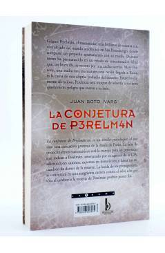 Contracubierta de LA CONJETURA DE P3REM4N PERELMAN (Juan Soto Ivars) B 2009