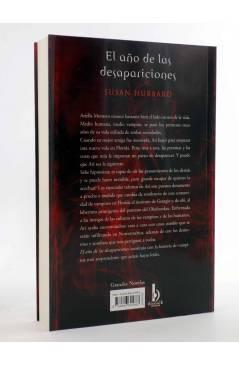 Contracubierta de EL AÑO DE LAS DESAPARICIONES (Susan Hubbard) B 2009