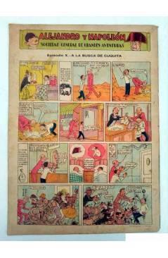 Contracubierta de ALGO. SEMANARIO ILUSTRADO ENCICLOPÉDICO Y DE BUEN HUMOR AÑO IV. N.º 141. 9 ENERO 1932 (Vvaa) Algo 1932
