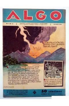Cubierta de ALGO. SEMANARIO ILUSTRADO ENCICLOPÉDICO Y DE BUEN HUMOR AÑO IV. N.º 152. 26 MARZO 1932 (Vvaa) Algo 1932