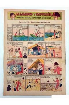 Contracubierta de ALGO. SEMANARIO ILUSTRADO ENCICLOPÉDICO Y DE BUEN HUMOR AÑO IV. N.º 152. 26 MARZO 1932 (Vvaa) Algo 193