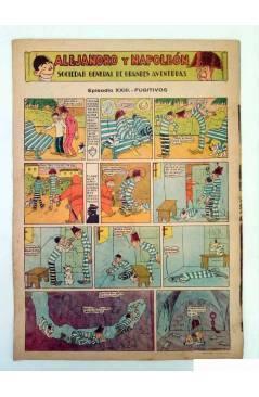 Contracubierta de ALGO. SEMANARIO ILUSTRADO ENCICLOPÉDICO Y DE BUEN HUMOR AÑO IV. N.º 154. 9 ABRIL 1932 (Vvaa) Algo 1932