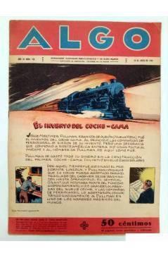 Cubierta de ALGO. SEMANARIO ILUSTRADO ENCICLOPÉDICO Y DE BUEN HUMOR AÑO IV. N.º 155. 16 ABRIL 1932 (Vvaa) Algo 1932