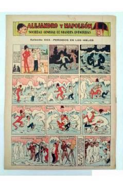 Contracubierta de ALGO. SEMANARIO ILUSTRADO ENCICLOPÉDICO Y DE BUEN HUMOR AÑO IV. N.º 161. 28 MAYO 1932 (Vvaa) Algo 1932